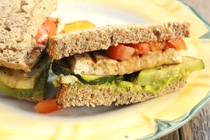 Sandwich de Zuchini & Tofu al Grill IMG_0627